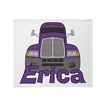 Trucker Erica Throw Blanket