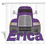 Trucker Erica Shower Curtain