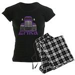 Trucker Erika Women's Dark Pajamas