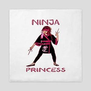 Ninja Princess Queen Duvet
