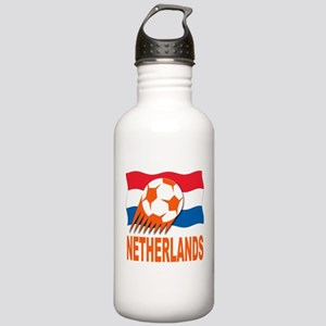 Netherlands World Cup Soccer Stainless Water Bottl