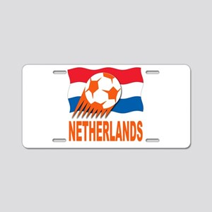 Netherlands World Cup Soccer Aluminum License Plat