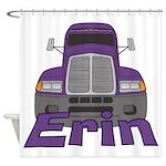 Trucker Erin Shower Curtain