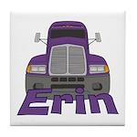 Trucker Erin Tile Coaster