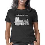 Whitby Abbey (black) Women's Classic T-Shirt