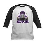 Trucker Eva Kids Baseball Jersey