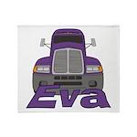 Trucker Eva Throw Blanket