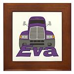 Trucker Eva Framed Tile