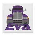 Trucker Eva Tile Coaster