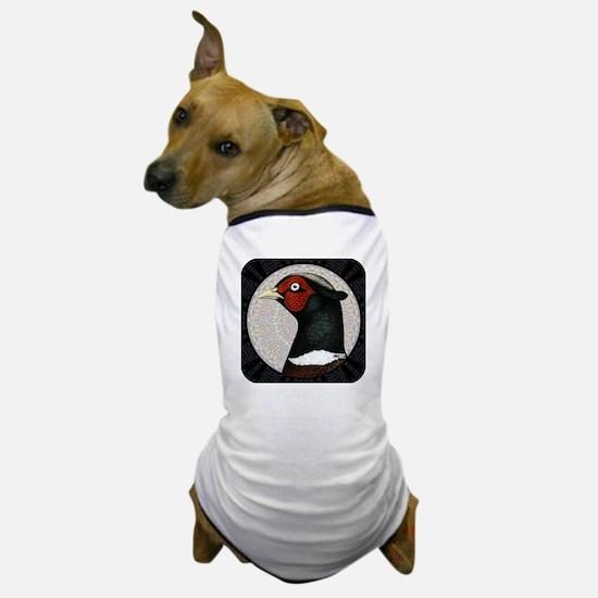 Ringneck Pheasant Circle Dog T-Shirt
