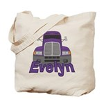 Trucker Evelyn Tote Bag