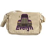 Trucker Evelyn Messenger Bag