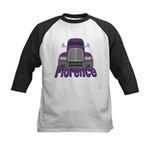 Trucker Florence Kids Baseball Jersey