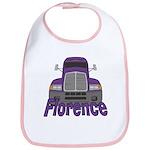 Trucker Florence Bib