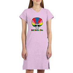 Rainbow Afro Women's Nightshirt