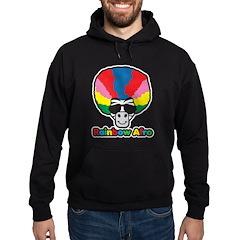 Rainbow Afro Hoodie (dark)