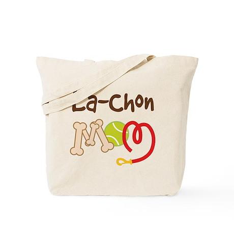 La-Chon Dog Mom Tote Bag