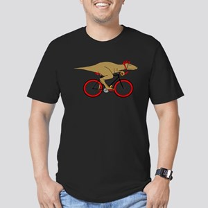 Velodrome Raptor Men's Fitted T-Shirt (dark)