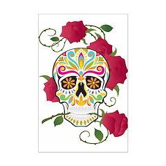 Rose Sugar Skull Posters