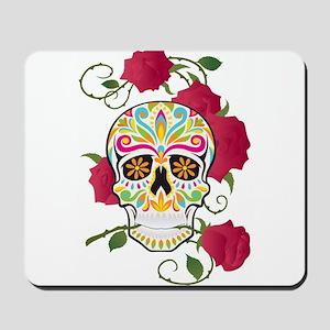 Rose Sugar Skull Mousepad