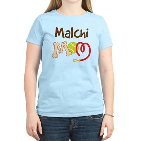 Malchi Dog Mom Women's Light T-Shirt