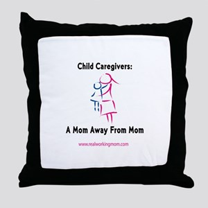 Mom Away From Mom Throw Pillow