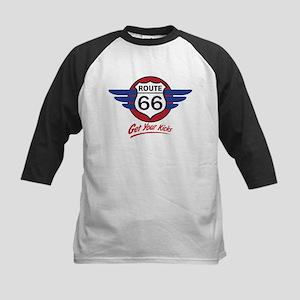 Route 66 Kids Baseball Jersey