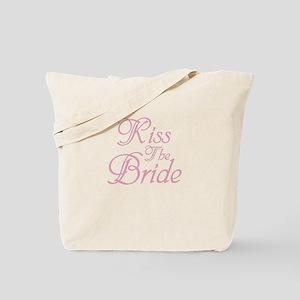 Kiss The Bride Tote Bag