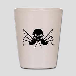Skull & Crossdrones, Black Shot Glass