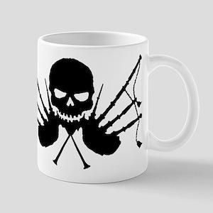 Skull & Crossdrones, Black Mug