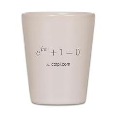 Euler's Identity Shot Glass