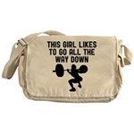All the way down Messenger Bag