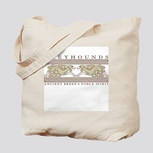 Hounds and Knotwork Tote Bag