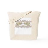 Greyhound Canvas Tote Bag