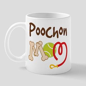 Poochon Dog Mom Mug