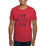 Off Duty RN Dark T-Shirt