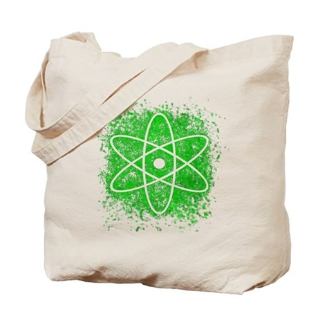 Cool Nuclear Splat Tote Bag