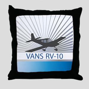 Aircraft Vans RV-10 Throw Pillow