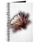 White Cactus Flower Journal