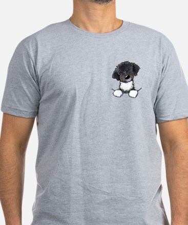 Pocket Havanese Men's Fitted T-Shirt (dark)