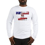NATALIE IS RIGHT Long Sleeve T-shirt