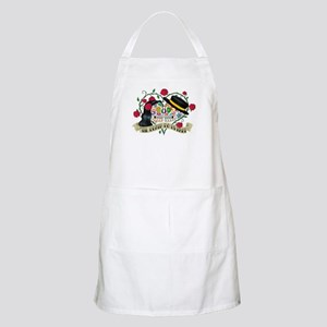 Day Of The Dead Wedding Apron
