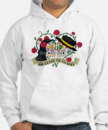 Day Of The Dead Wedding Hoodie