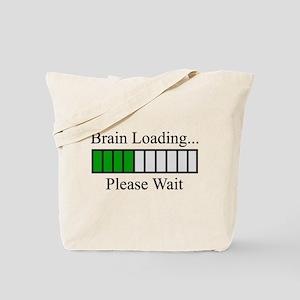 Brain Loading Bar Tote Bag