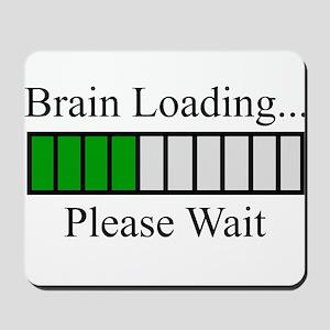Brain Loading Bar Mousepad