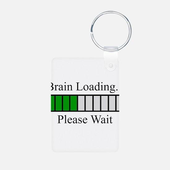 Brain Loading Bar Keychains