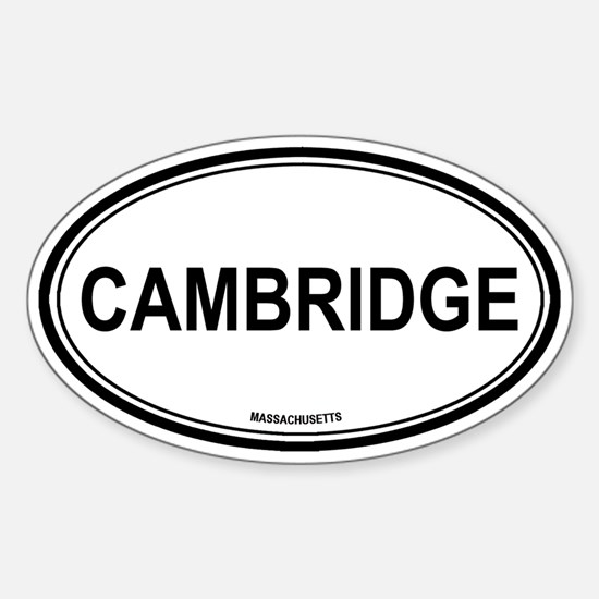 Cambridge (Massachusetts) Oval Decal