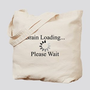 Brain Loading Circle Tote Bag