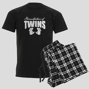 grandfather of twins Men's Dark Pajamas
