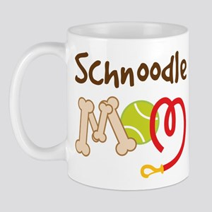 Schnoodle Dog Mom Mug
